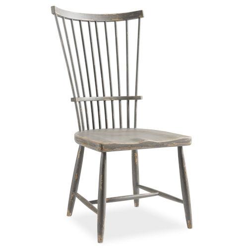 Alfresco Dark Gray Side Chair
