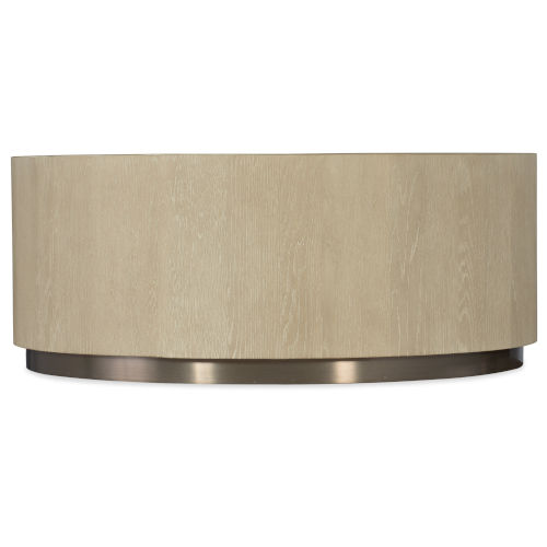 Cascade Taupe Round Cocktail Table
