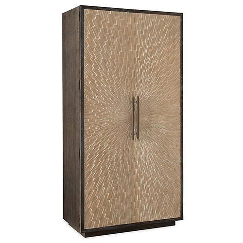 Hooker Furniture Miramar Point Reyes Dark Wood Salvador Wardrobe