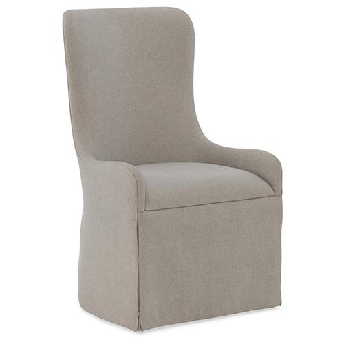 Miramar Aventura Beige Gustave Upholstered Host Chair
