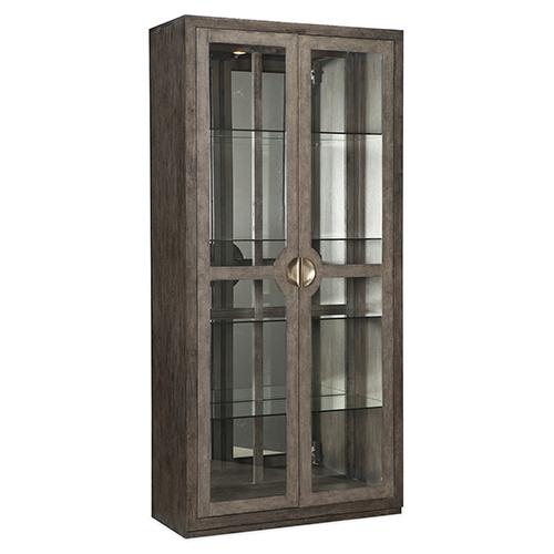 Hooker Furniture Melange Carissa Brown Display Cabinet