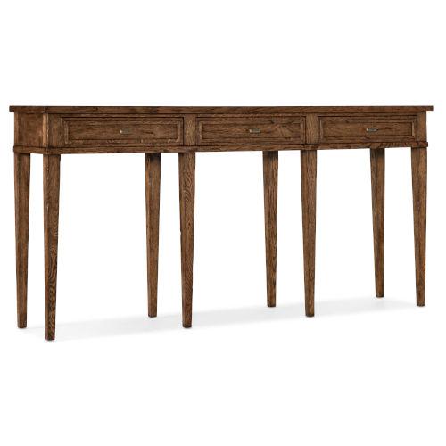 Melange Medium Wood Console Table