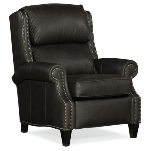 Huss Charcoal 36-Inch 3- Way Lounger Pushback Recliner