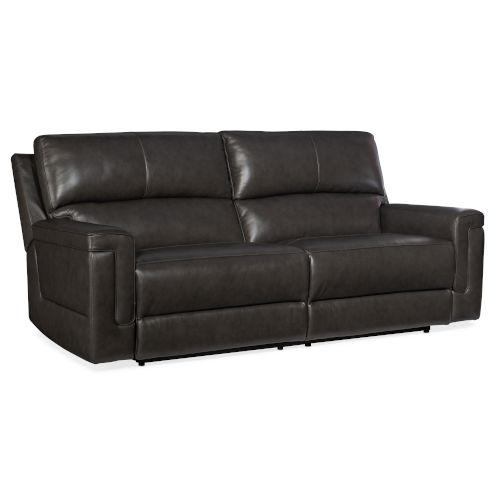 Gable Dark Gray Power Sofa with Power Headrest