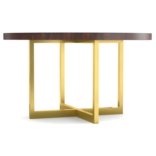 Hooker Furniture Horizon Line Round Dining Table