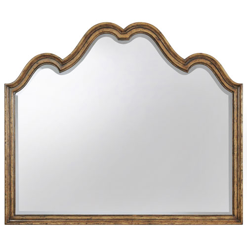 Hooker Furniture Auberose Medium Wood Mirror