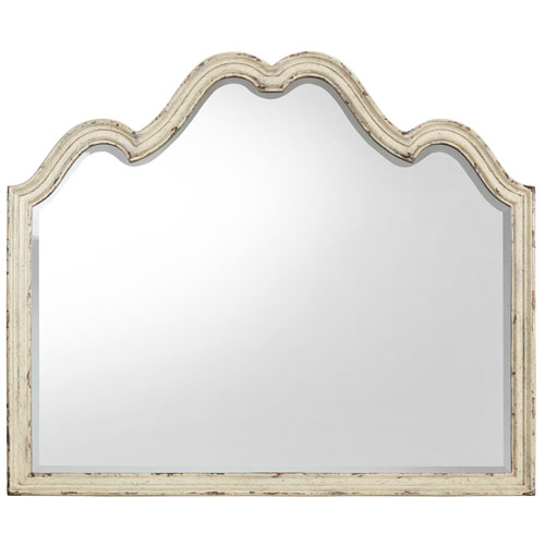 Auberose Beige Mirror