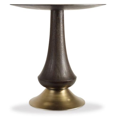 Curata Gold Accent Pub Table
