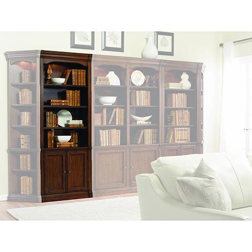 Hooker Furniture Cherry Creek 32-Inch Wall Storage Cabinet  sc 1 st  Bellacor & Glass Door Shelf Storage Cabinet | Bellacor