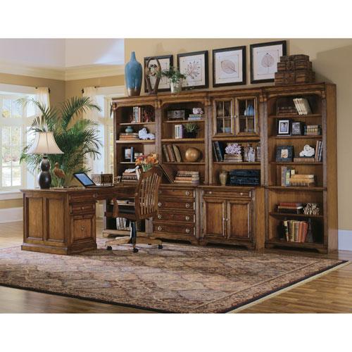Hooker Furniture Brookhaven Armoire Desk Reviews: Hooker Furniture Brookhaven Peninsula Desk 281 10 411