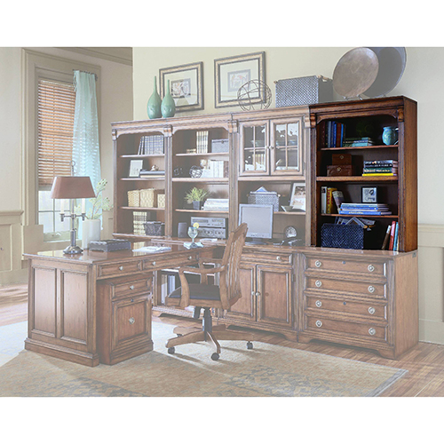 Hooker Furniture Brookhaven 32-Inch Open Hutch