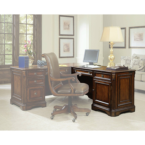 Hooker Furniture Brookhaven Right Pedestal Return