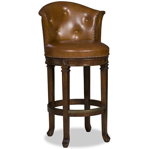Hooker Furniture Manhattan Brown Barstool
