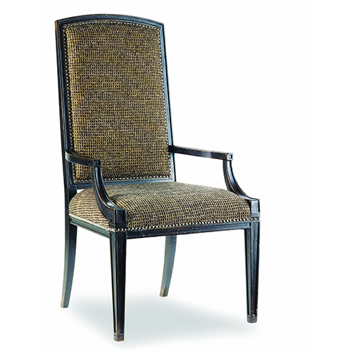 Hooker Furniture Sanctuary Mirage Arm Chair-Ebony