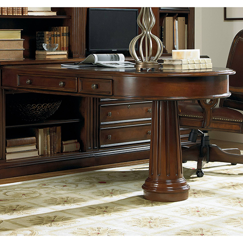 Hooker Furniture European Renaissance II Peninsula Desk Complete