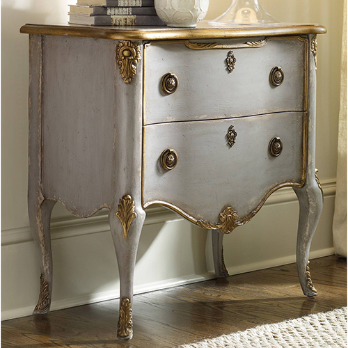 Hooker Furniture French Two Drawer Chest