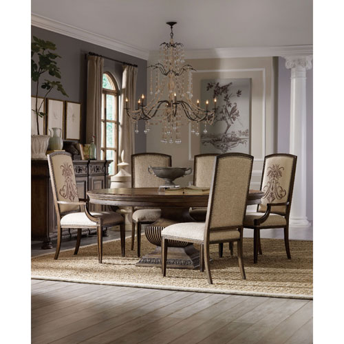 72 dining table grayish brown 2215015070752132 hooker furniture rhapsody 72 inch round dining table 5070 75213