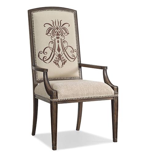 Hooker Furniture Rhapsody Insignia Arm Chair