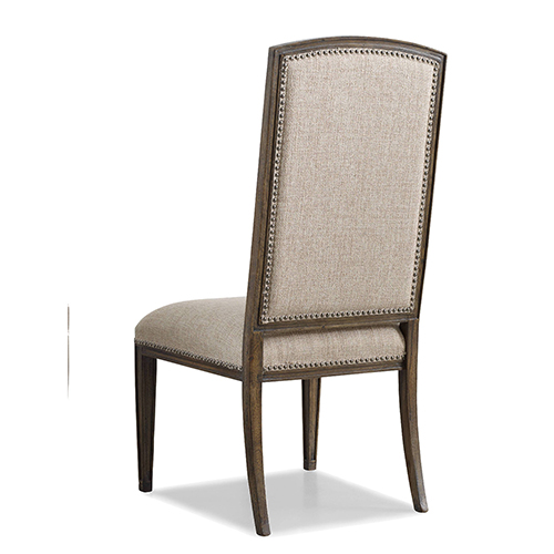 Hooker Furniture Rhapsody Tan Fabric Side Chair
