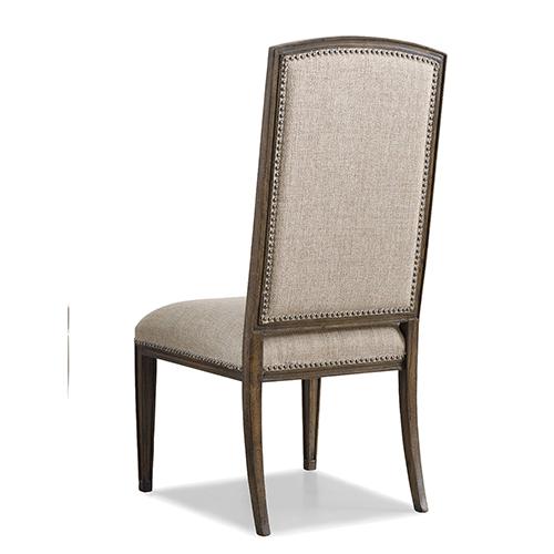 Rhapsody Tan Fabric Side Chair