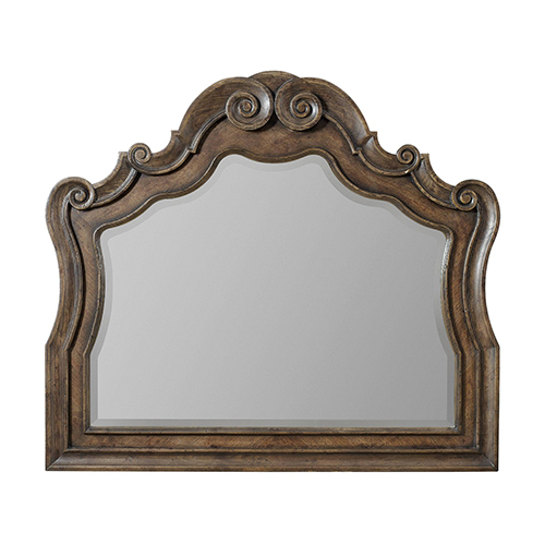 Rhapsody Medium Wood Mirror