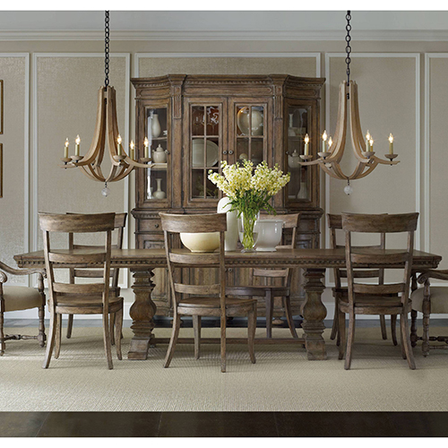 Hooker Furniture Sorella Rectangle Dining Table with2-18-Inch leaves
