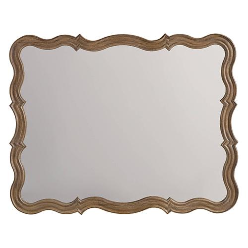 Corsica Light Wood Mirror