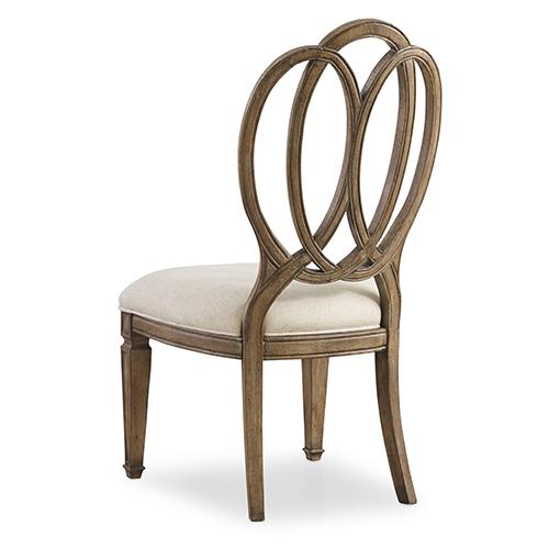 Hooker Furniture Solana Wood Back Side Chair