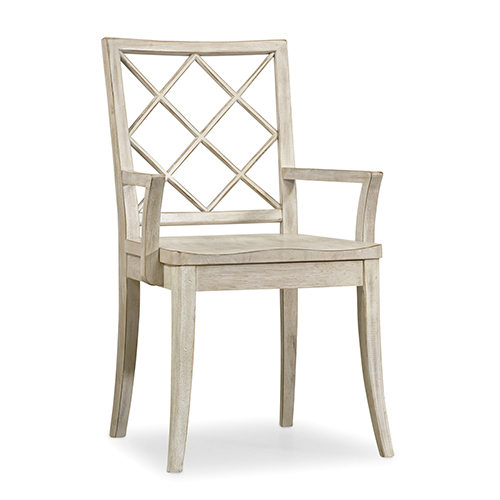 Hooker Furniture Sunset Point X Back Arm Chair