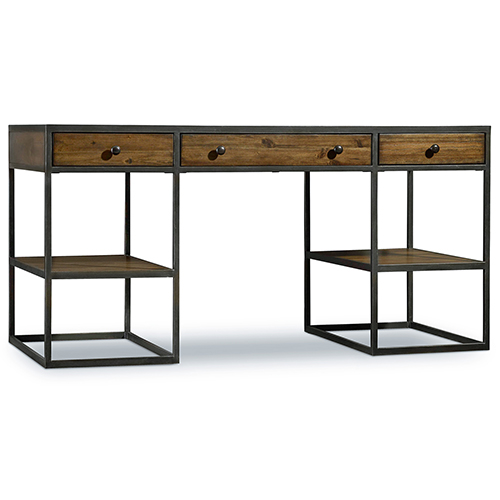 Hooker Furniture Chadwick Wood and Metal Writing Desk