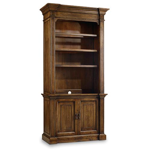 Archivist Dark Wood Bookcase