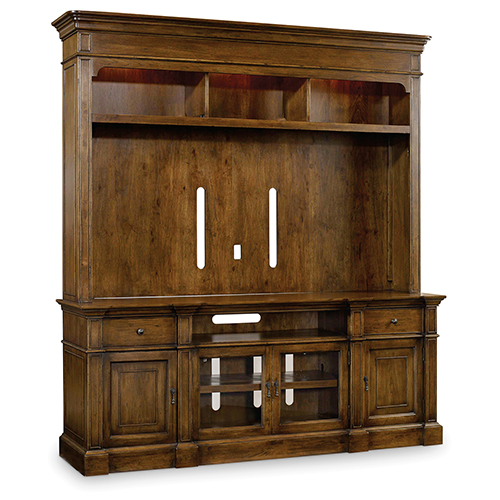 Hooker Furniture Archivist Two-Piece Entertainment Group