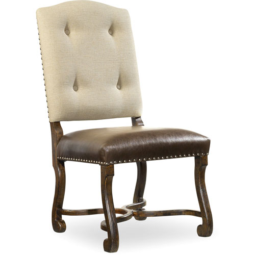 Treviso Camelback Side Chair