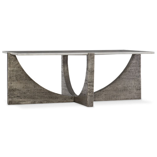 Hooker Furniture Artic White Marble Cocktail Table
