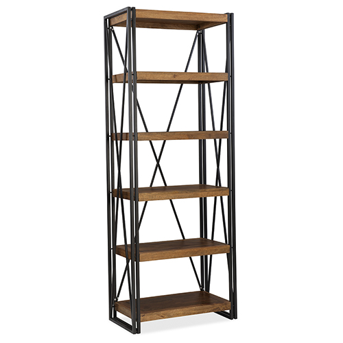 Rustique Bookcase in Mango Solids and Iron