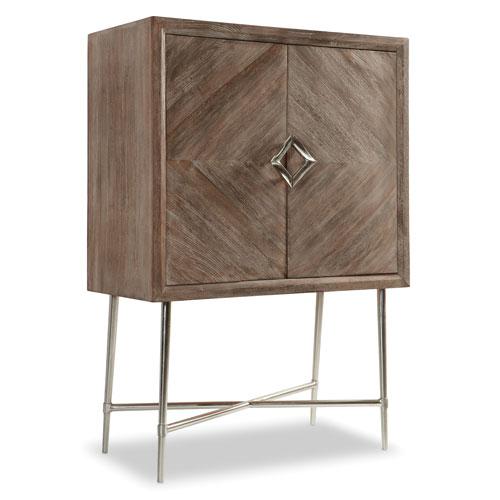 Hooker Furniture Adjustable Shelf Bar Cabinet