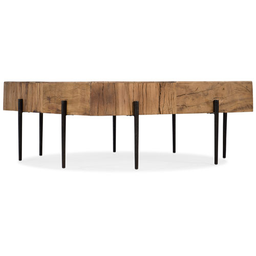 Hooker Furniture Salvaged Wood Square Cocktail Table