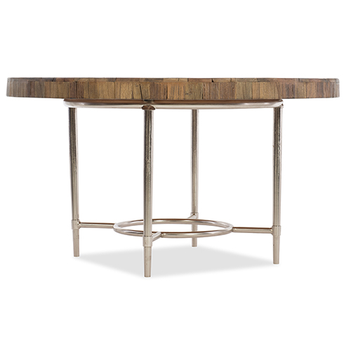 L Usine 54-Inch Round Dining Table