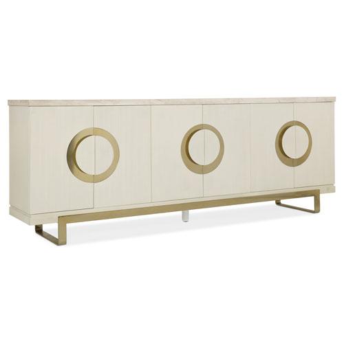 Hooker Furniture Melange White Noelle Credenza