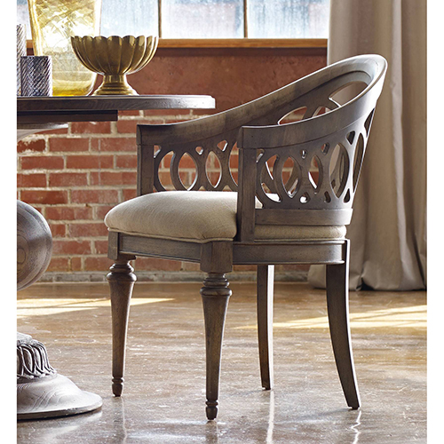 Hooker Furniture Cambria Light Wood Chair