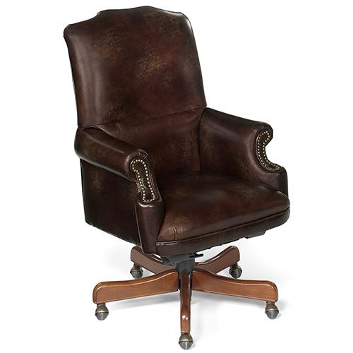 Hooker Furniture Grandy Executive Swivel Tilt Chair