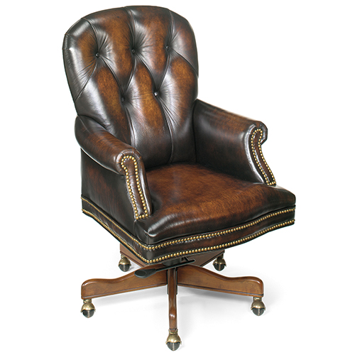 Marcus Brown Leathered Executive Swivel Tilt Chair