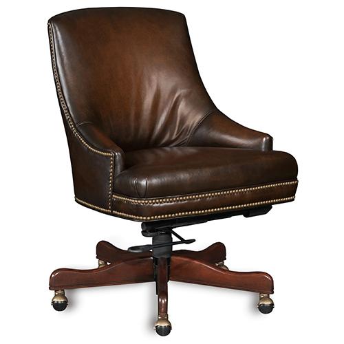 Hooker Furniture Heidi Executive Swivel Tilt Arm Chair