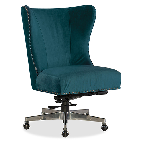 Hooker Furniture Juliet Blue Fabric Home Office Chair