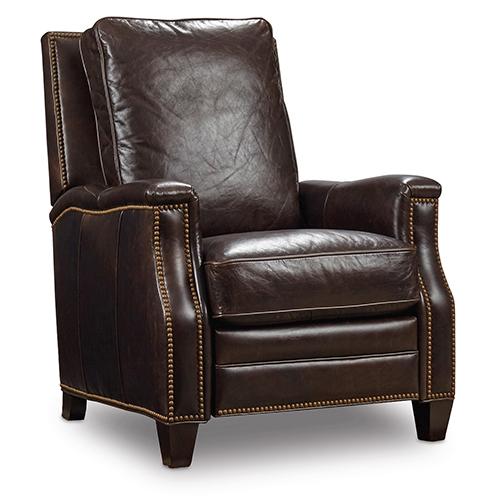 Hooker Furniture Landry Brown Leather Recliner