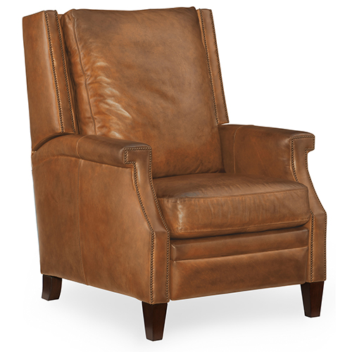 Hooker Furniture Collin Brown Leather Recliner