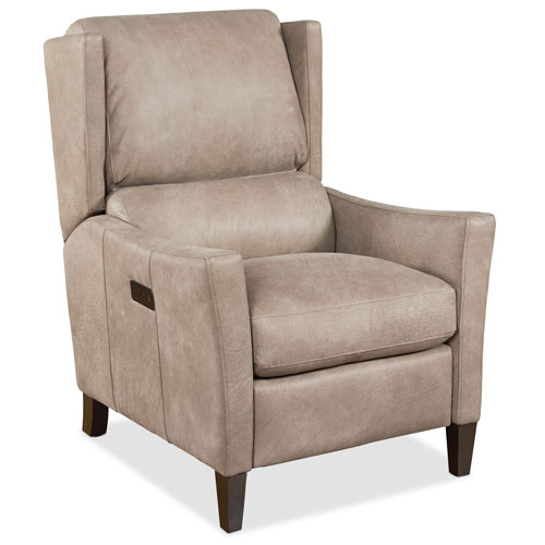 Larkin Light Tan Leather Power Recliner