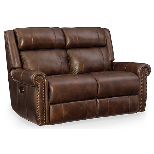 Hooker Furniture Esme Power Motion Loveseat with Power Headrest