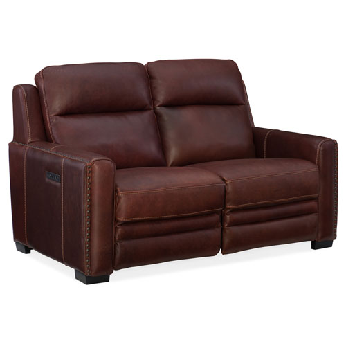Aviator Power Motion Loveseat with Power Headrest and Power Lumbar Support
