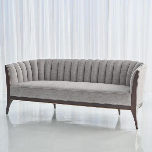 Channel Silversmith Back Sofa